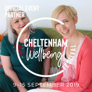 Fran and Carrie Cheltenham Wellbeing Festival