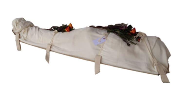 Shroud coffin