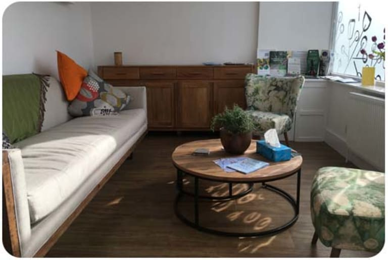 A Natural Undertaking premises: The Living Room