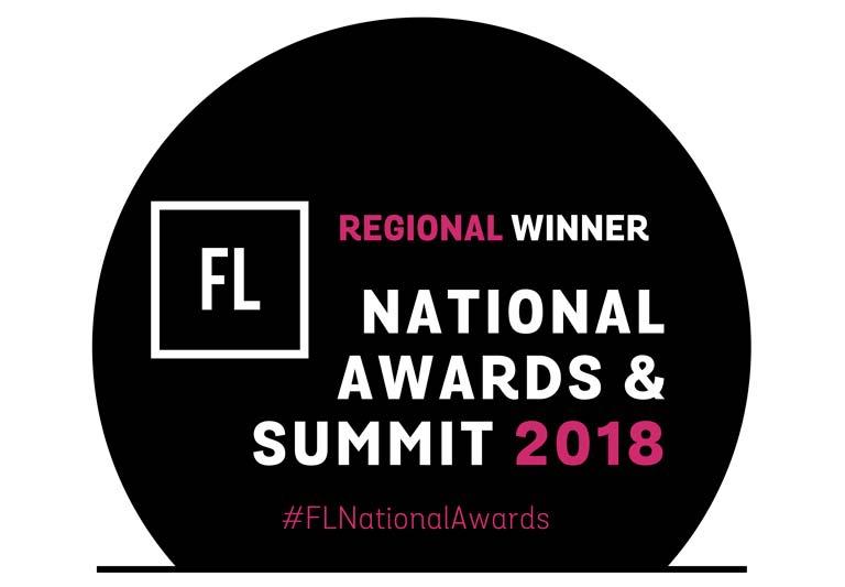 Regional Winner of FL Awards 2018