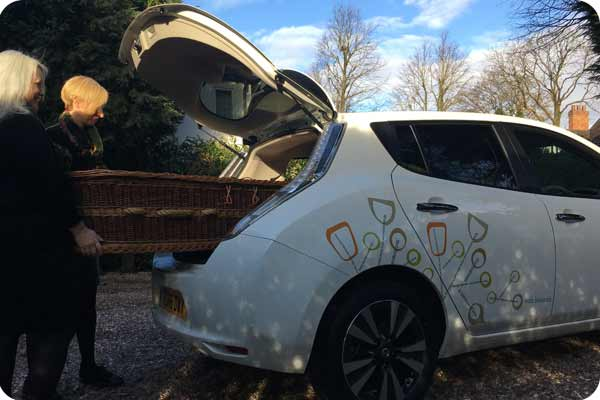eco hearse A Natural Undertaking