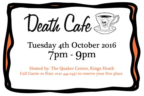 Death Cafe 4th Oct 2016