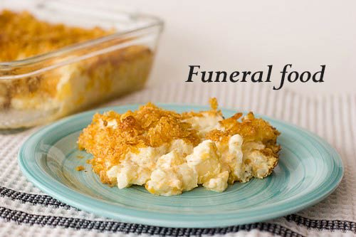 Funeral food - it's a thing!