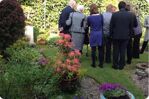 garden funeral