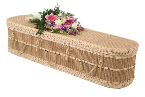 Oval loom coffin