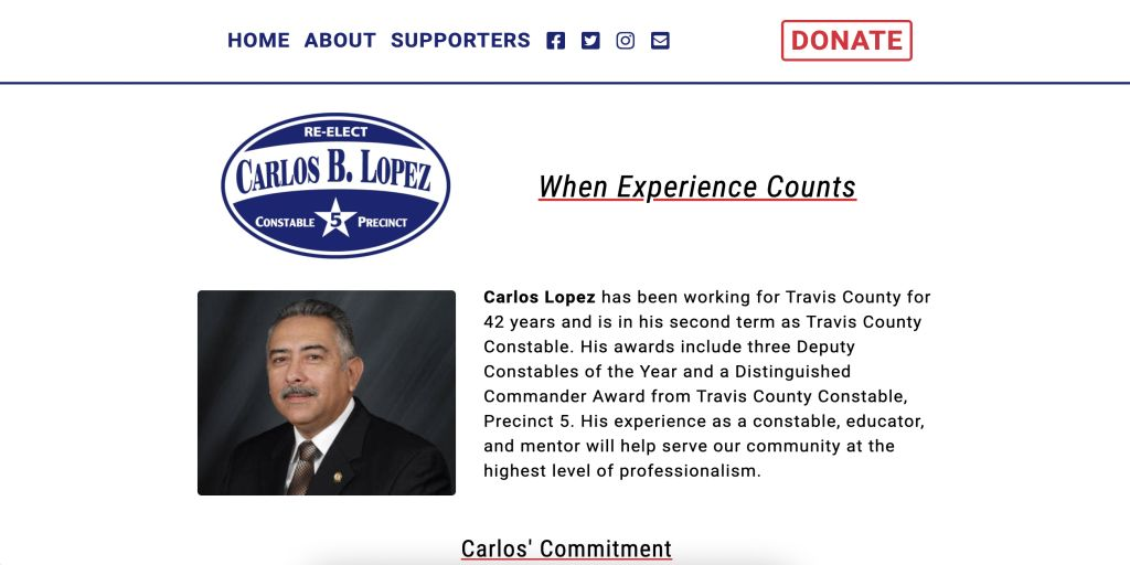 reelect carlos lopez desktop version