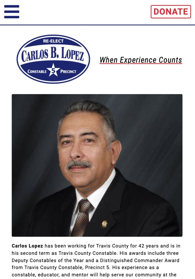 reelect carlos lopez mobile version