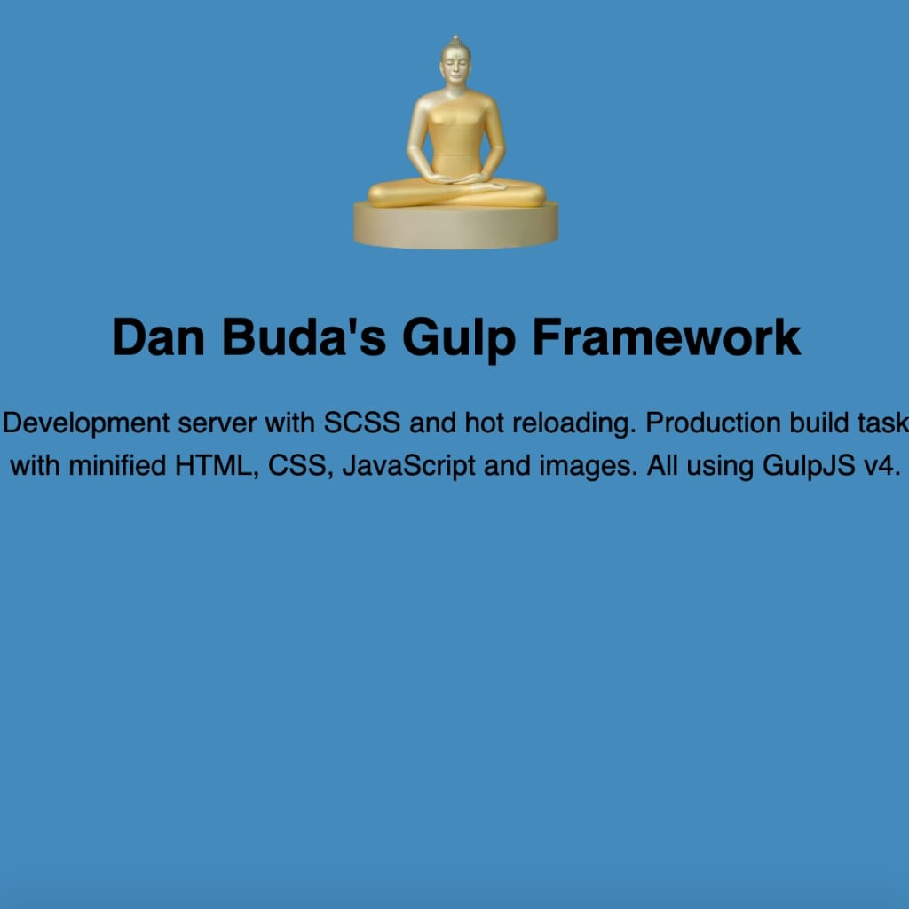 gulp framework project