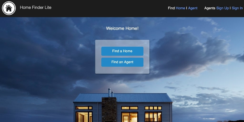 home finder project desktop version