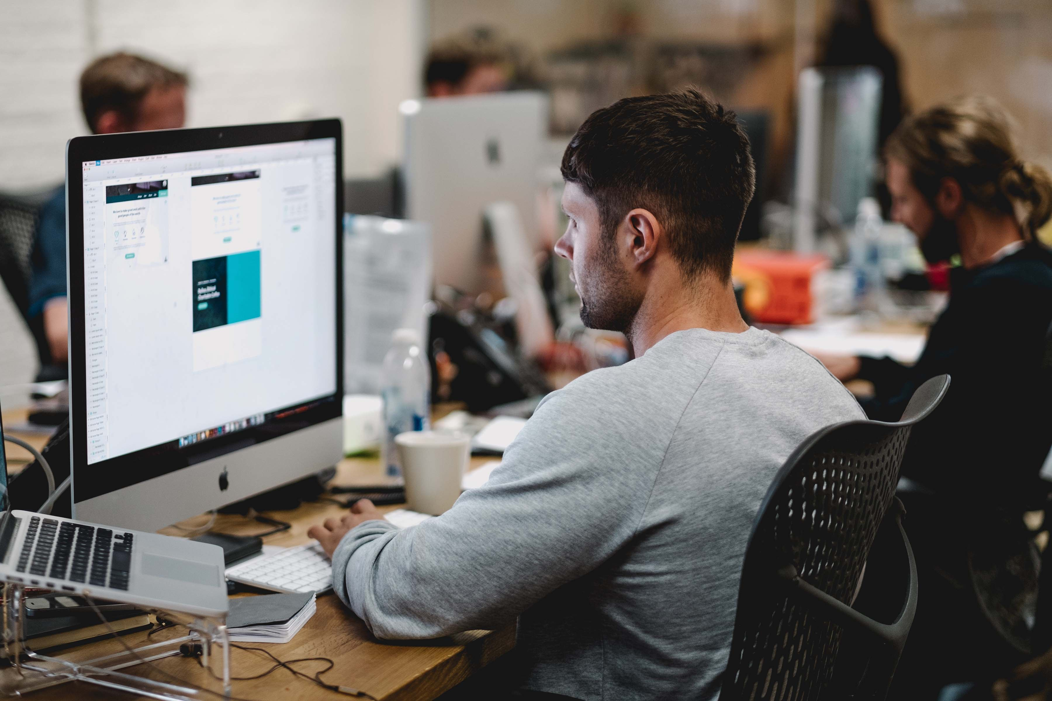 Ergonomically designed furniture goes a long way in determining how productive the users are while at work. Photo by Studio Republic on Unsplash
