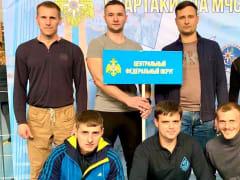 В Санкт-Петербурге прошли всероссийские соревнования по гиревому спорту среди команд МЧС