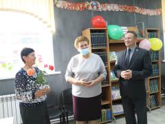 Ольга Окунева посетила с рабочей поездкой Кардымовский район
