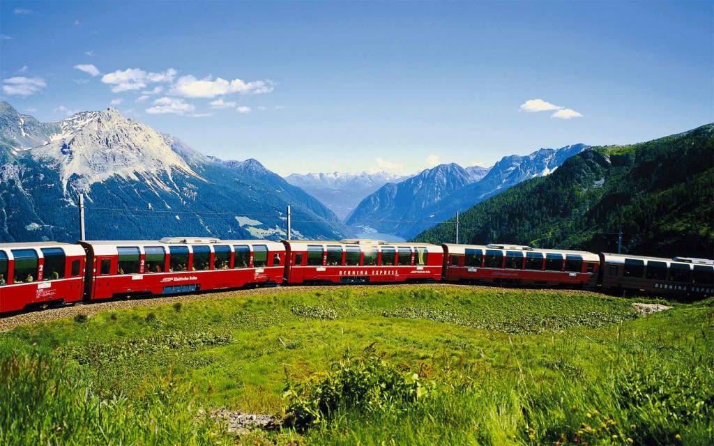 Bernina Express!