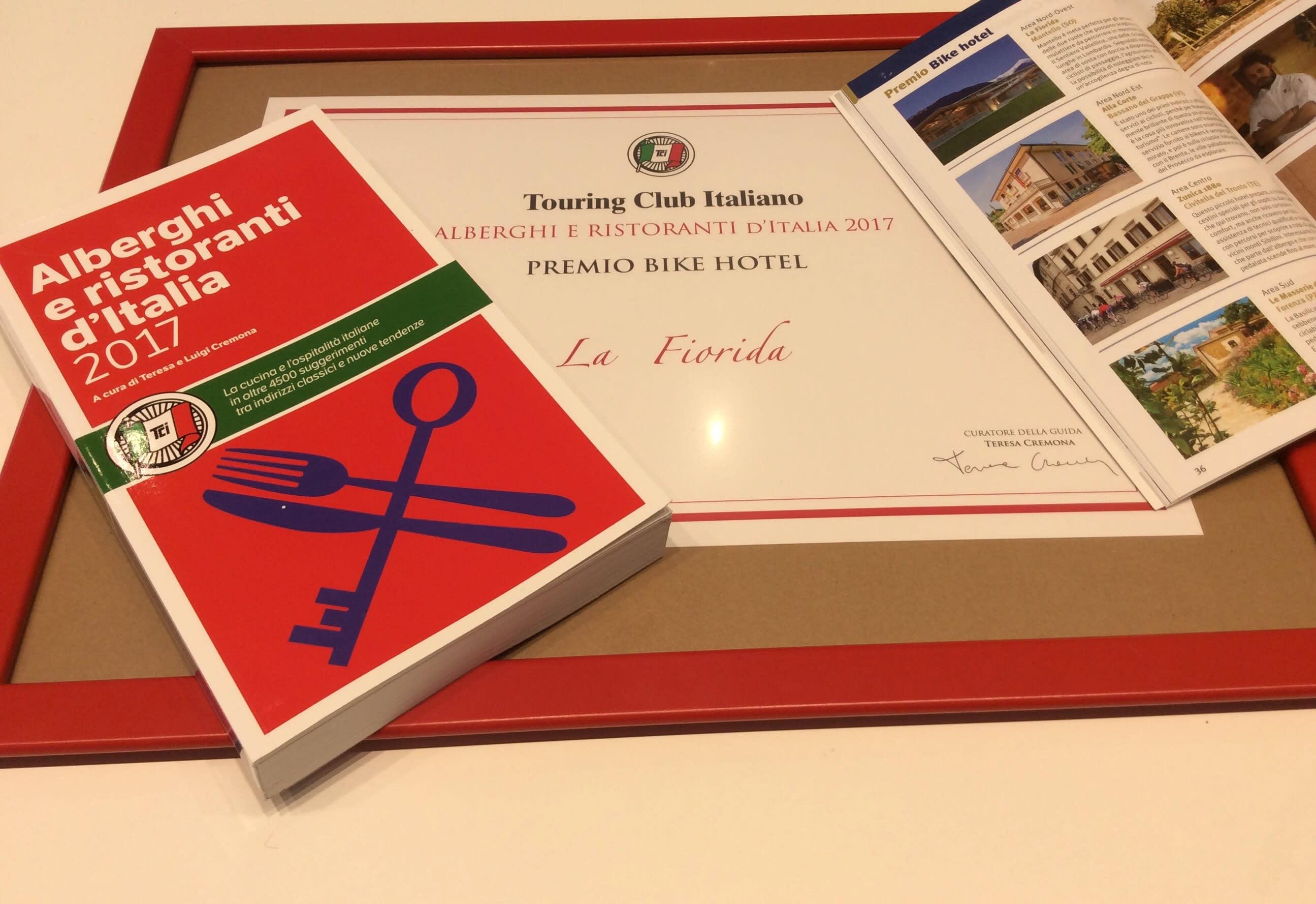 Migliori Bike Hotel italiani: il Touring Club premia La Fiorida