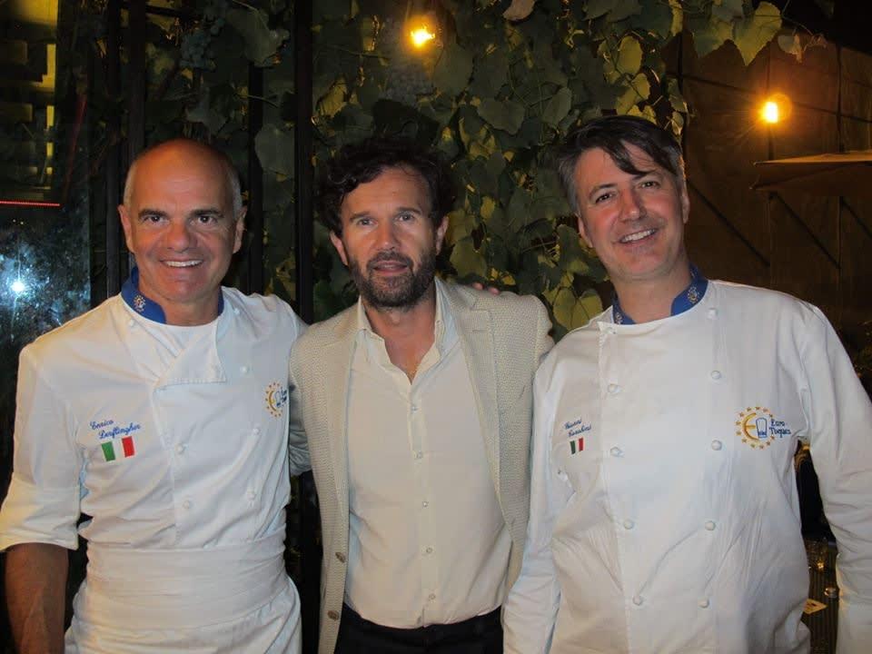 Unser Küchenchef Gianni Tarabini