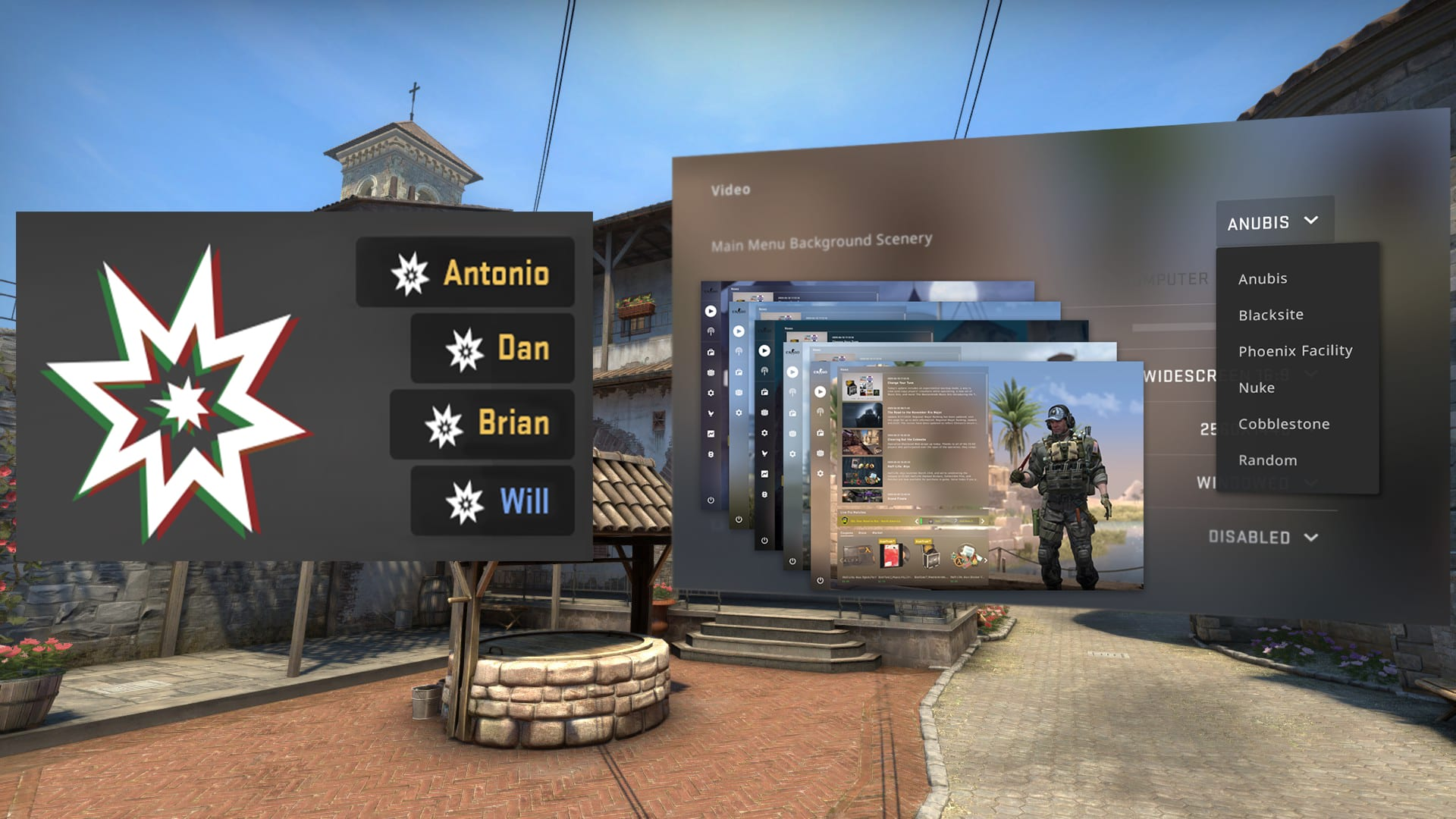 C4 Kill Feed, Improved Grenade Mechanics, Background Selection added In New BIG CSGO UPDATE 11