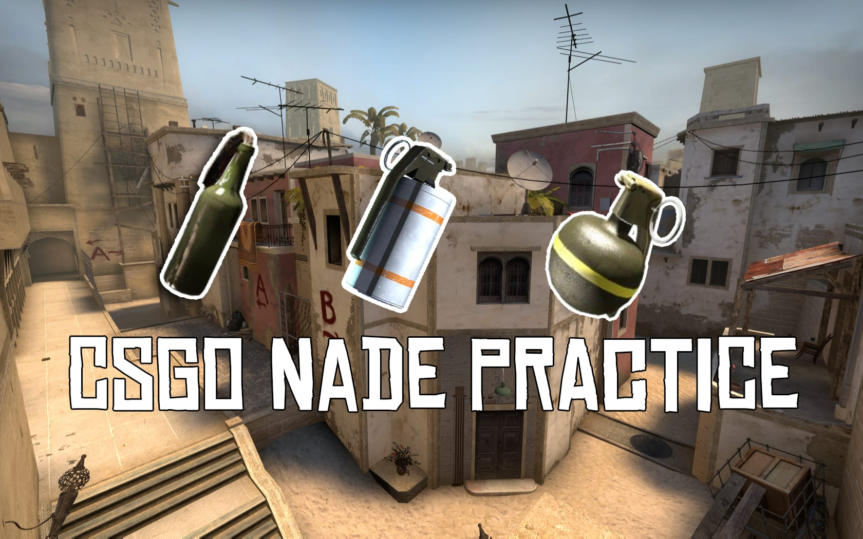 CSGO: Commands for Smokes/Nade practice 5