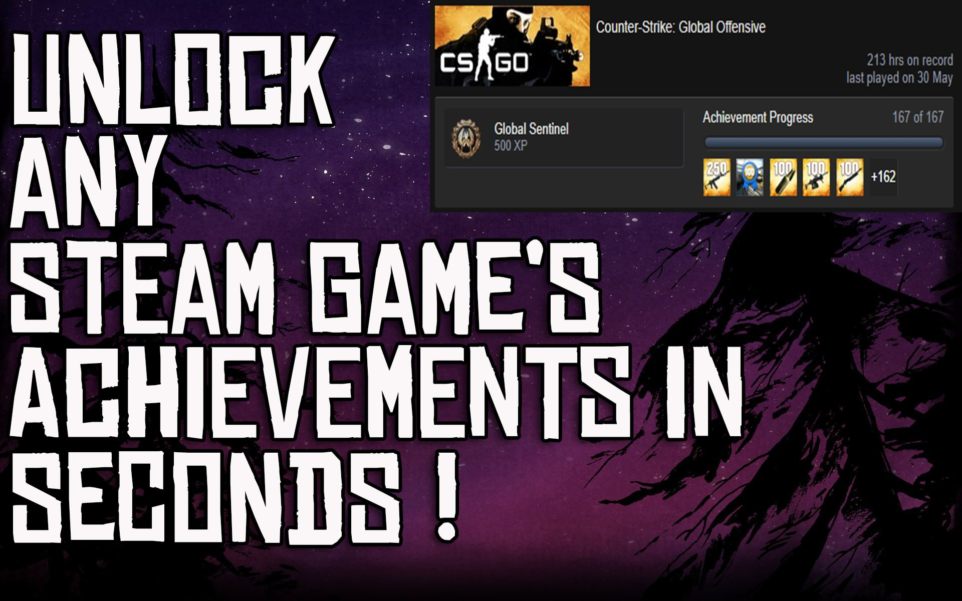 Here's how you can complete any STEAM GAME's achievements! 2