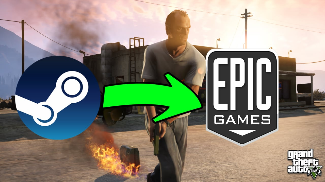 Here's how you can transfer Steam/Cracked GTA V Files to Epic Games Launcher 2