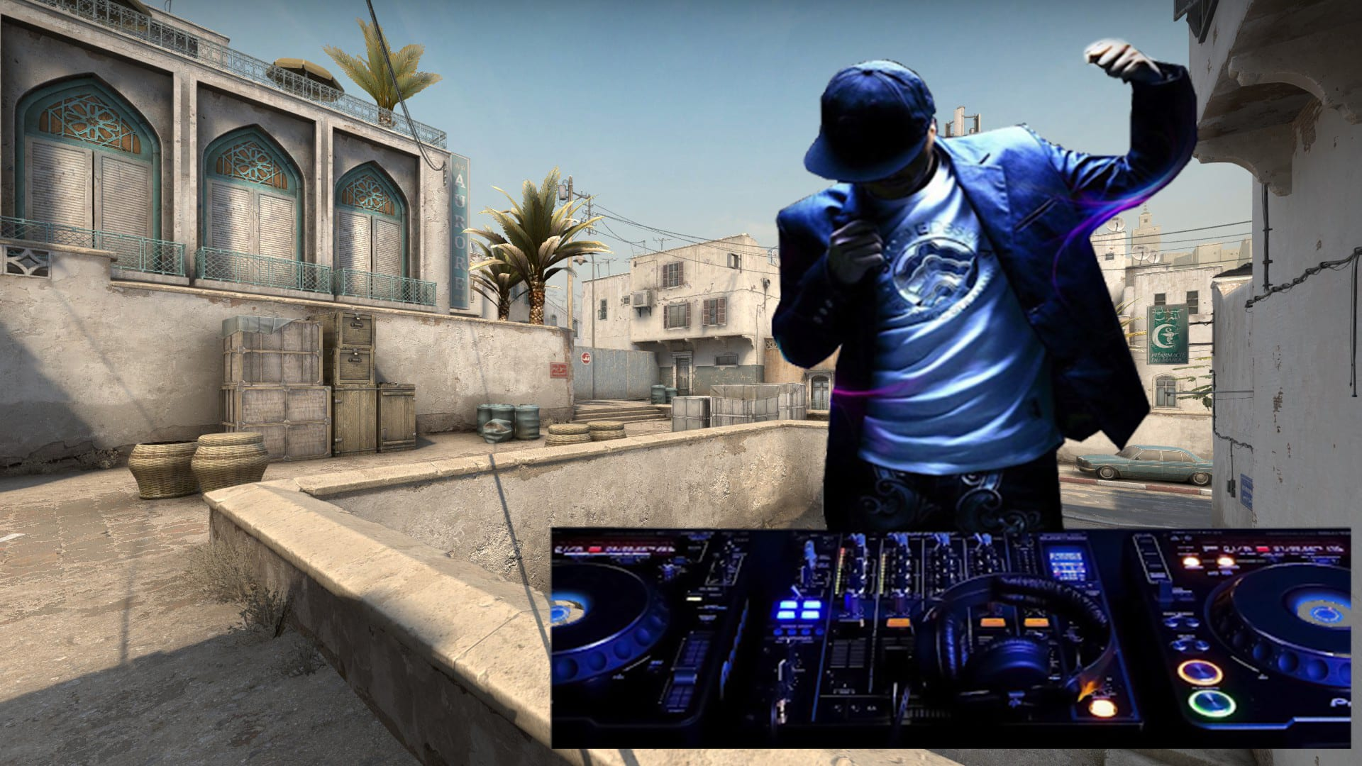 Here's how you can be in-game DJ in CSGO 2