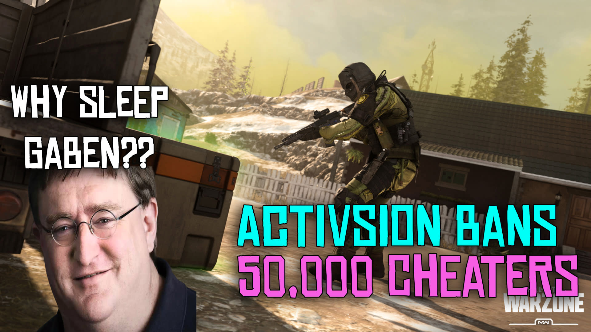 ACTIVISION BANS OVER 50K Cheaters from COD WARZONE, Here's what Valve can do. 2
