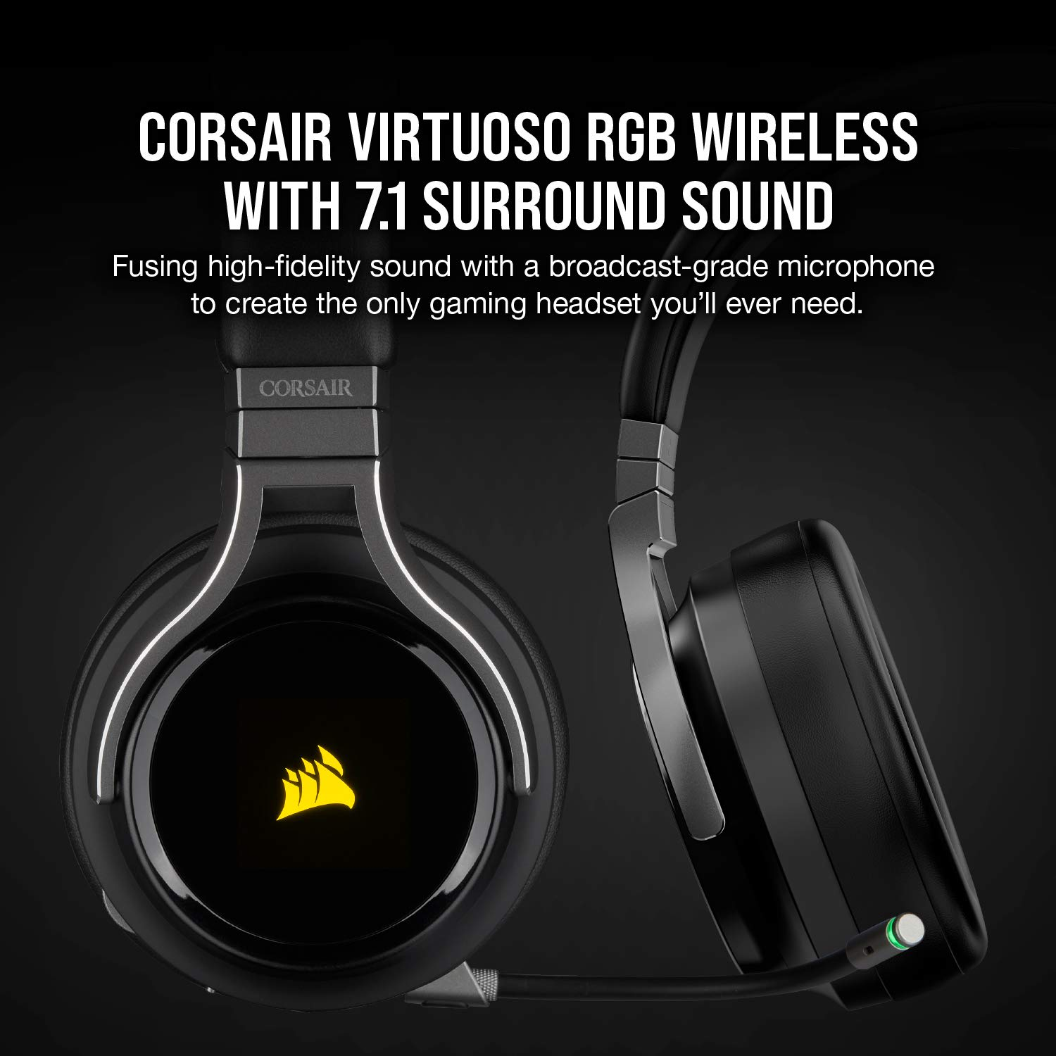Corsair Virtuoso RGB Wireless Gaming Headset Review! 4