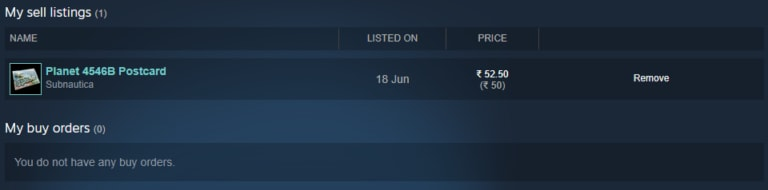 The Steam Item with only 5% Transaction Fees! 4