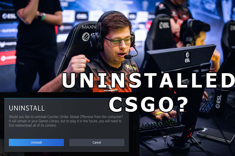 After getting Eliminated from ESL One Cologne Karrigan Deletes CSGO! 3