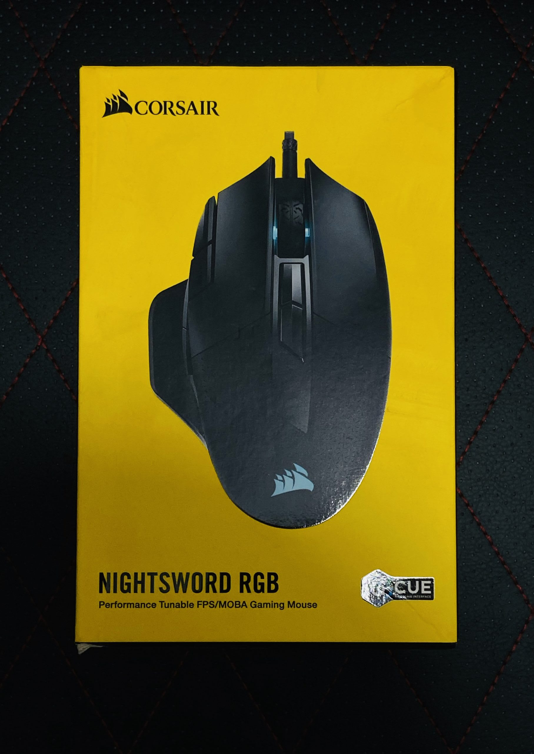 Corsair NightSword RGB Gaming Mouse Review 1
