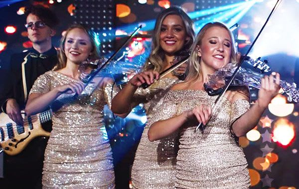 wedding music bands surrey with electric strings