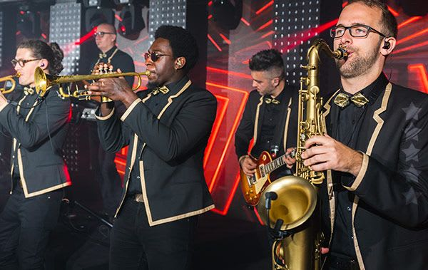 hire south east wedding bands that have stunning horn sections