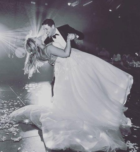 Bride & Groom performing their First Dance