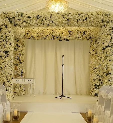 Production offerings for Chuppah ceremonies
