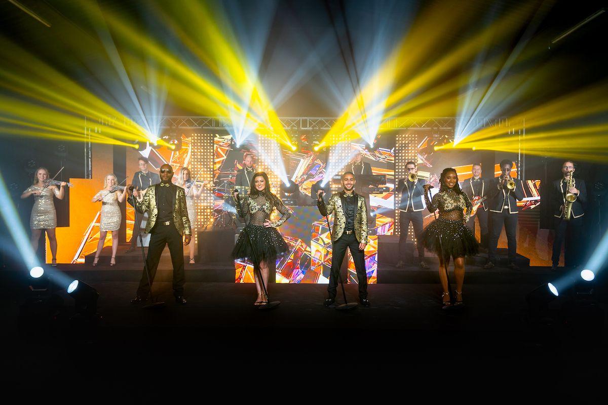 Jam Hot showband live dapper gold group
