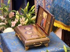В Челябинск прибывает Пояс Пресвятой Богородицы