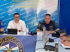 Алексей Текслер совместно с руководством МЧС России провел оперштаб по ситуации в Карталинском районе