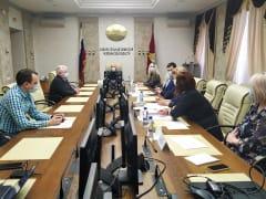 В избирательной комиссии прошла рабочая встреча с новыми председателями и членами ТИК