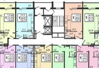 1-к. квартира, 41м², 20/20эт.