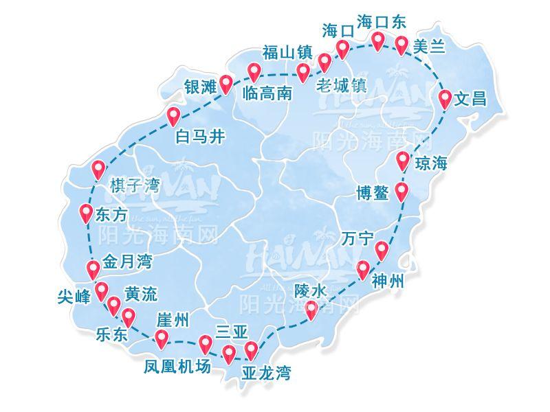 High speed train map