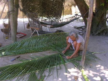 palm weaving