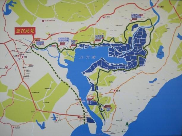 Wenchang Cycle Path Map