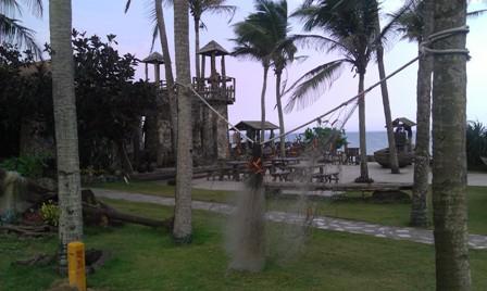 Sea Story Bar on Boao beach