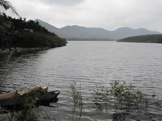 Chitian Reservoir near Sandao
