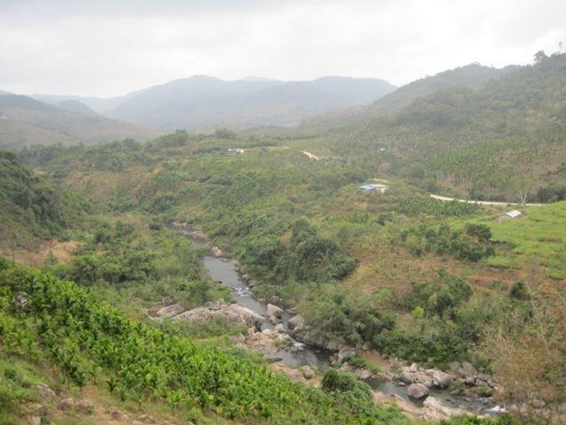 Hekou river Chitain reservoir tributary