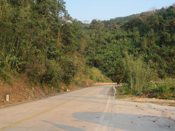 Baisha County along the S310 road