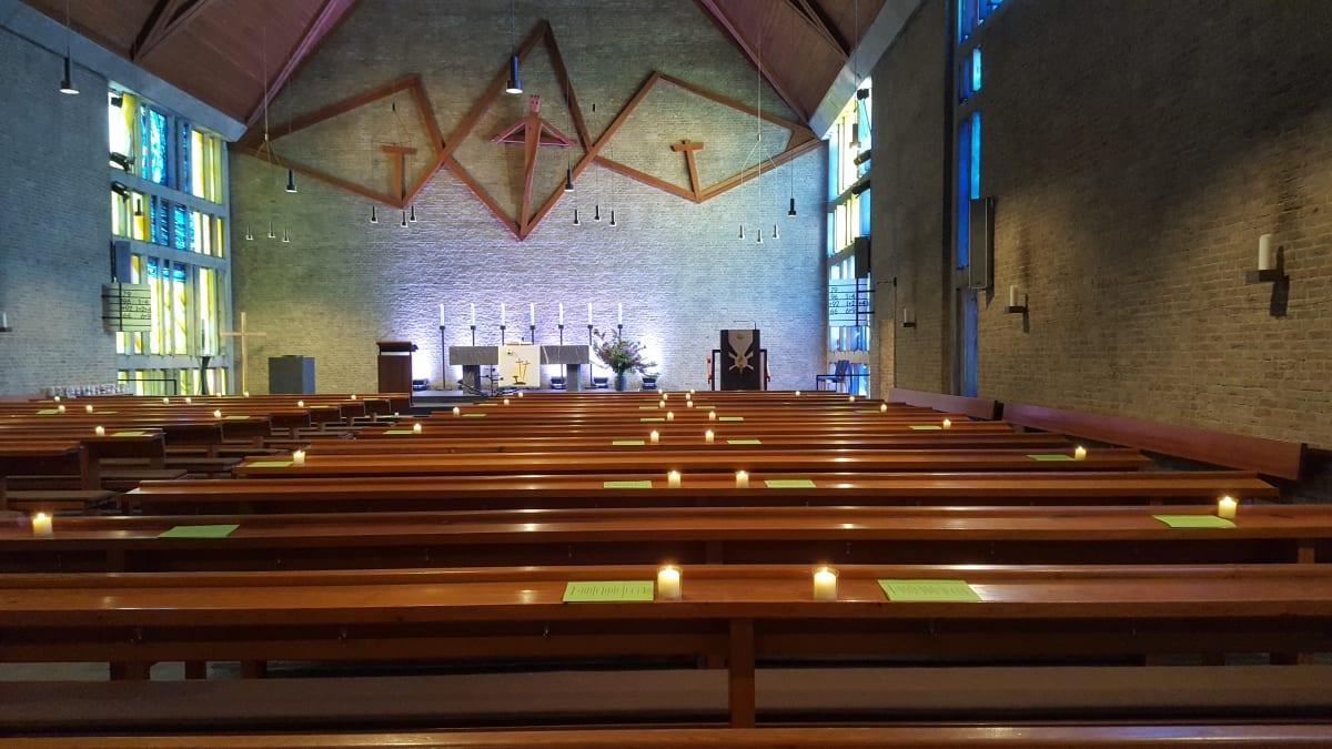 Kirche Innenraum leer