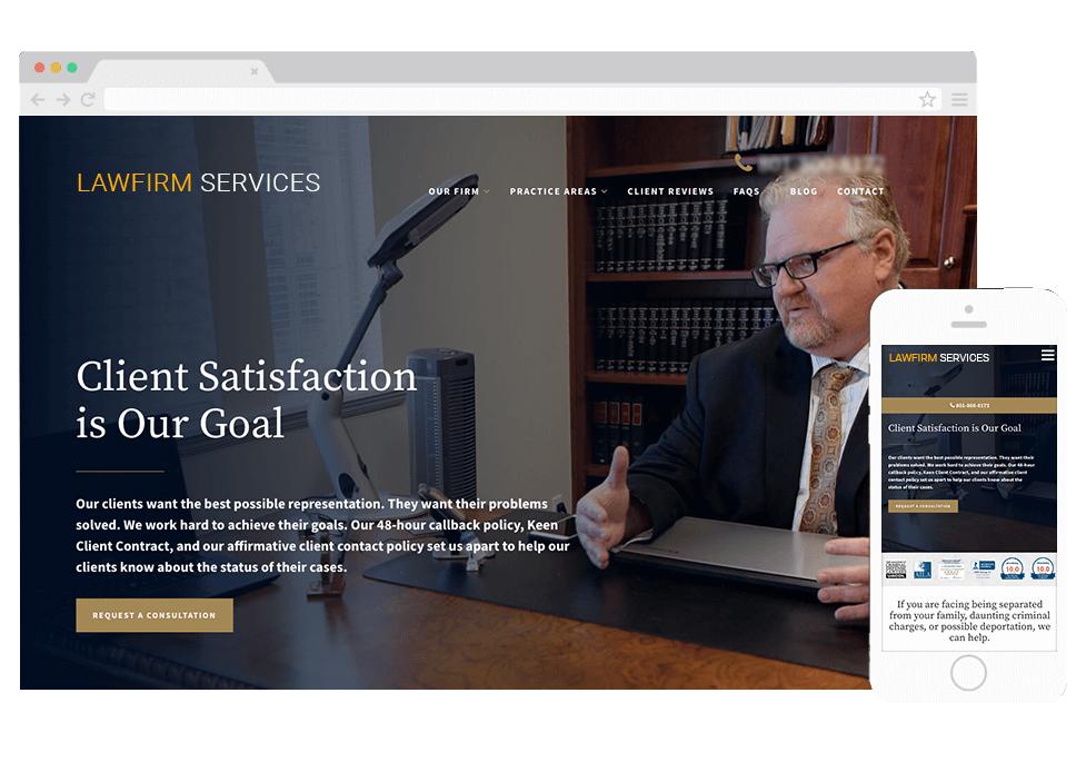 Superb Mobile Optimized Lawyer Website Best Legal Websites Design Home Interior And Landscaping Ymoonbapapsignezvosmurscom