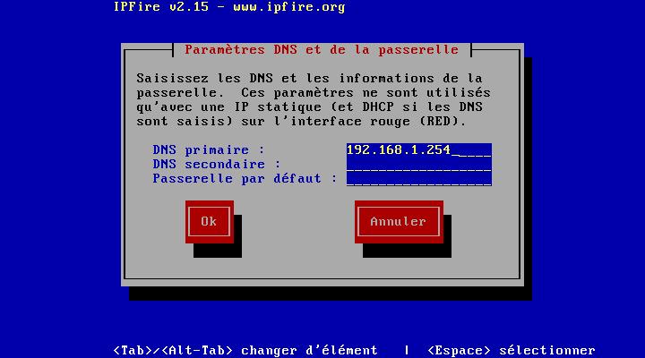 Choisissez vos DNS en premier mettre celui de votre BOX et en secondaire ceux de Google si vous le souhaitez (8.8.8.8 ou 8.8.4.4)