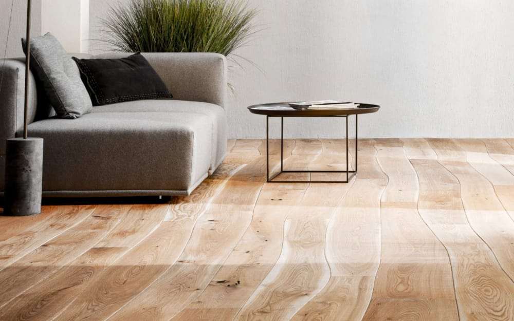 A wood floor that cares about the environment