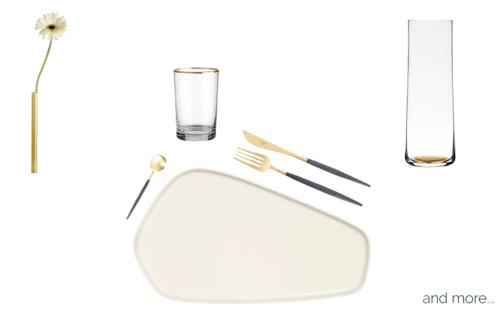 Minimalist Table Setting: 3 Proposal for all occasions